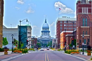 Capital Avenue, Springfield, Illinois
